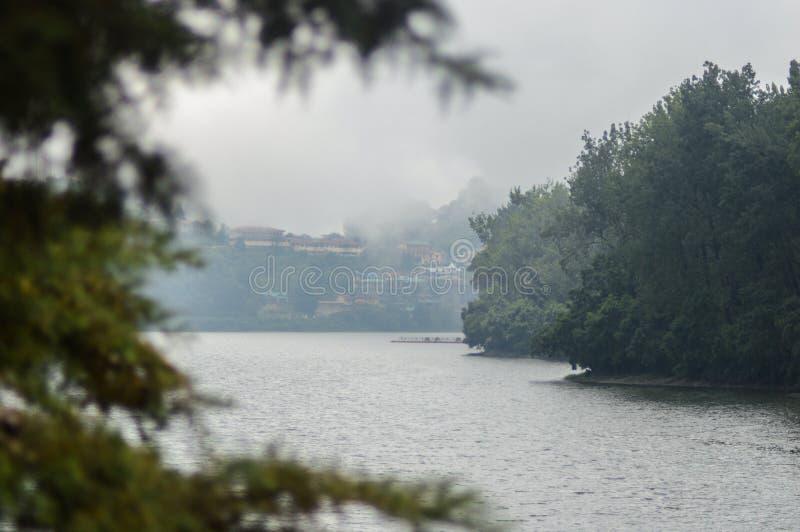 Bhimtal See, Nainital, Uttarakhand lizenzfreies stockfoto
