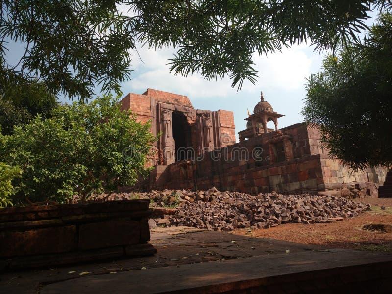 Bhojpur寺庙 免版税库存图片