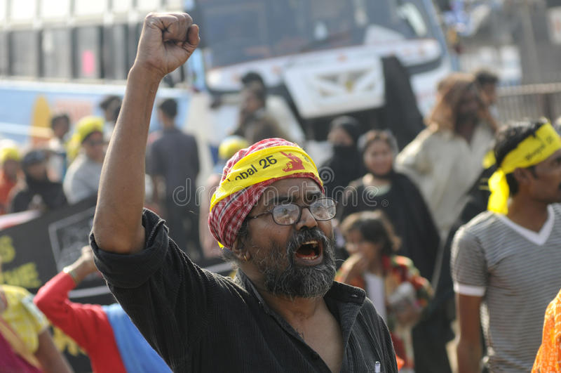 Download Bhopal agitation. editorial photo. Image of human, burqua - 26213886