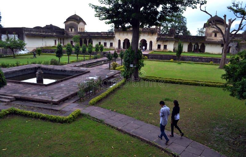 Bhopal, Chaman Mahal w islamu nagar obraz stock