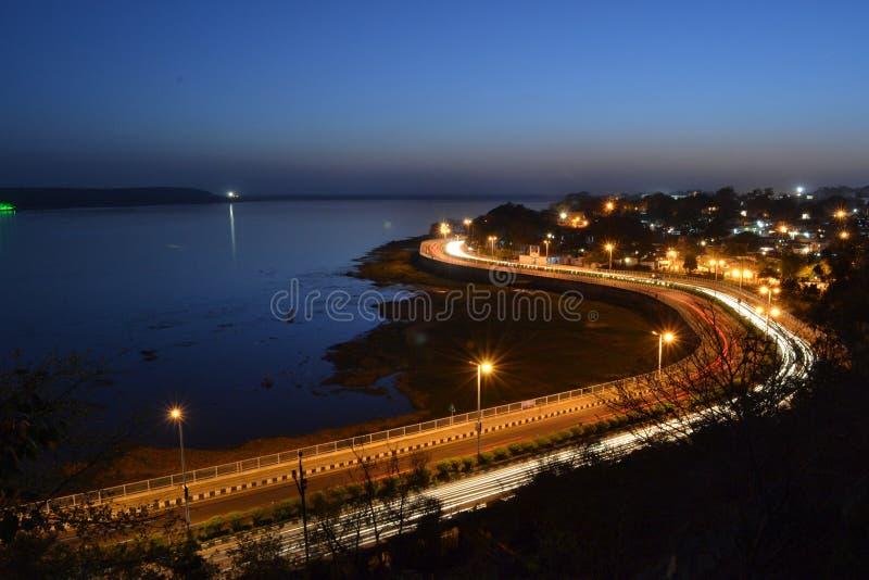 Bhopal, città dei laghi fotografia stock