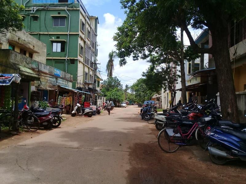 Bhubaneswar Odisha, Indien arkivfoto