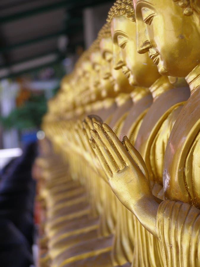 Bhudda in Thailand stock foto