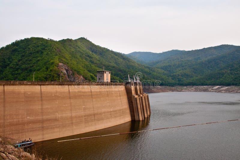 The Bhumibol Dam In Thailand. Royalty Free Stock Photos