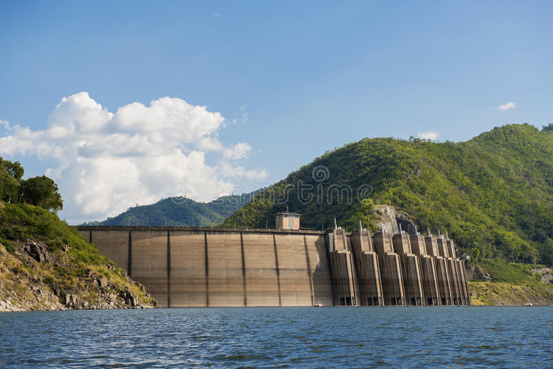 Bhumibol-Verdammung Tak Province, Thailand lizenzfreies stockbild