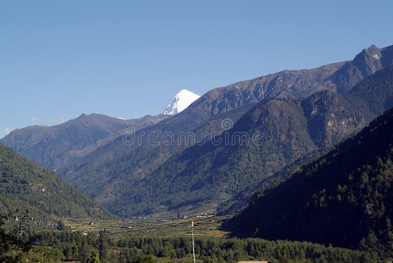 Bhután, Paro, fotografía de archivo