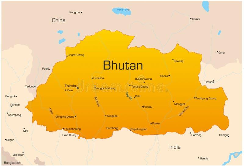 Bhutan ilustracji
