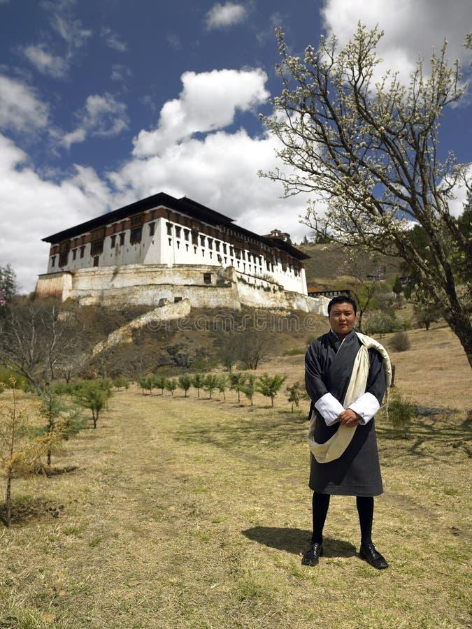 Bhutan - Bhutanese Man stock photography