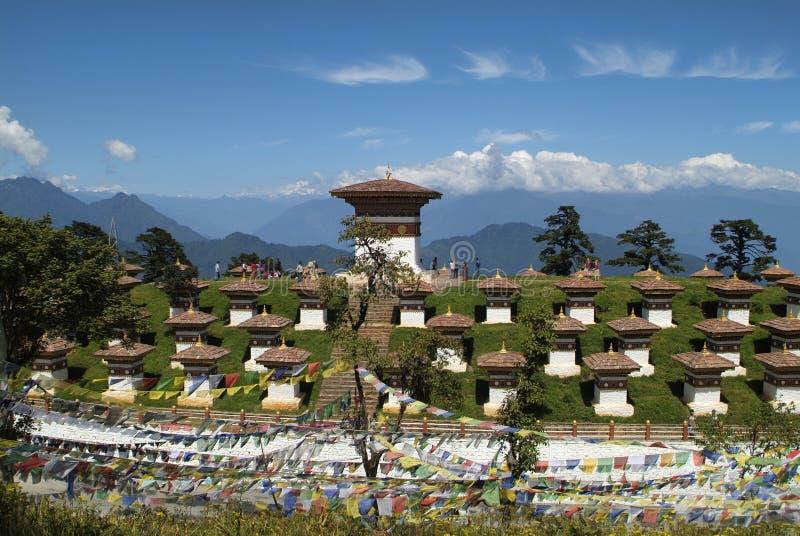Bhutan, Thimpu obrazy stock