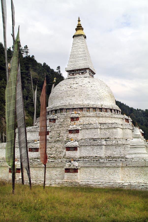 Bhutan, Trongsa, obrazy royalty free
