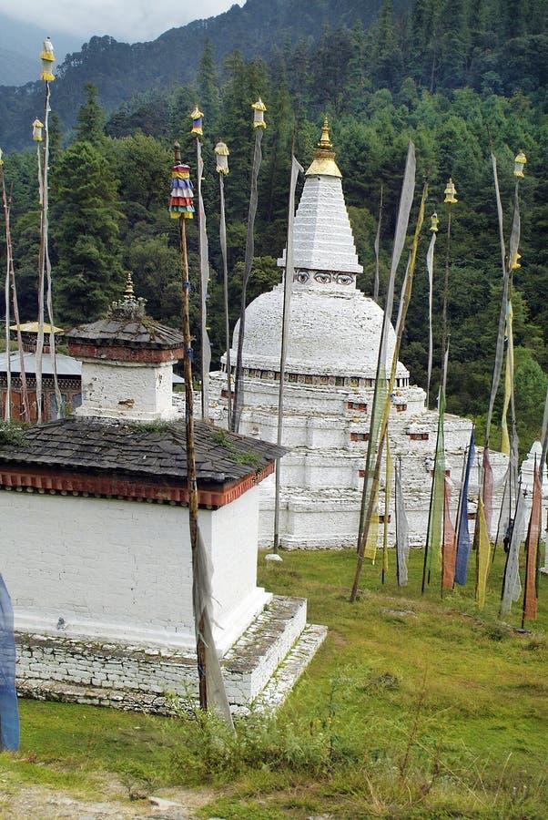 Bhutan, Trongsa, zdjęcie royalty free