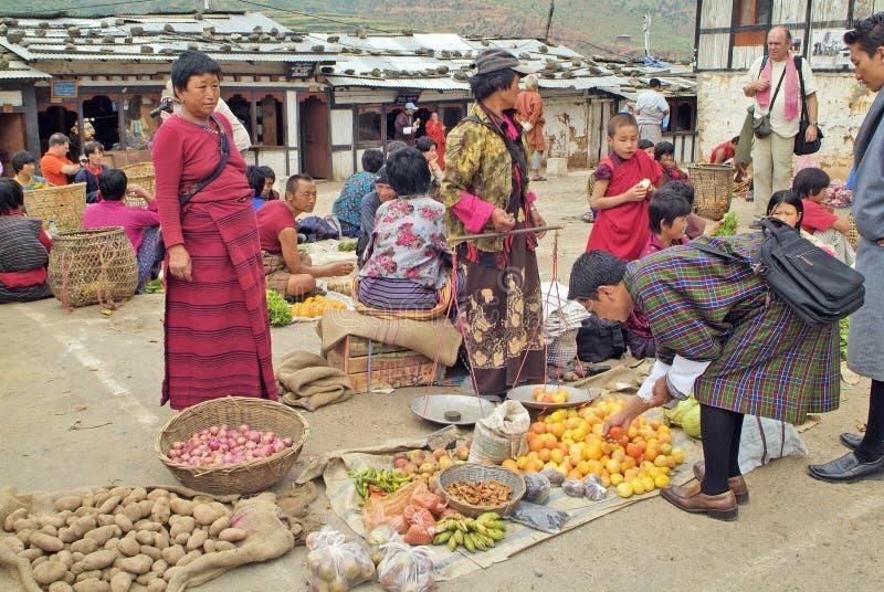 Bhutan,Wangdi Phodrang, stock image