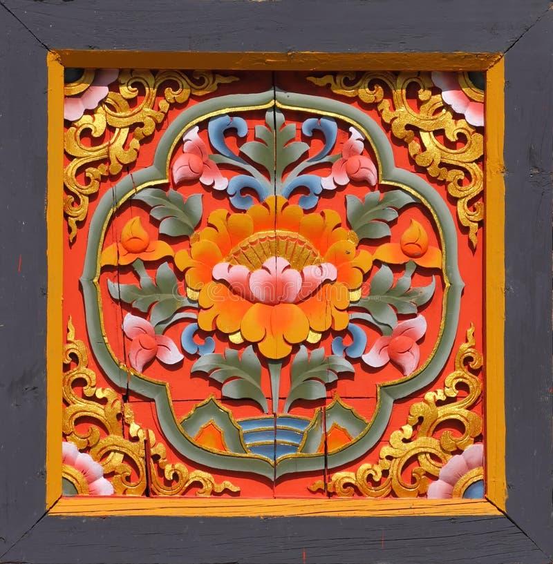 bhutanese искусства стоковое изображение rf