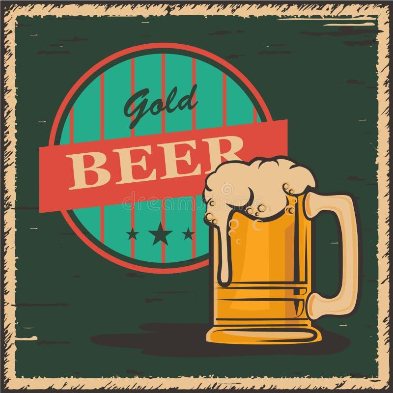 Bière illustration libre de droits