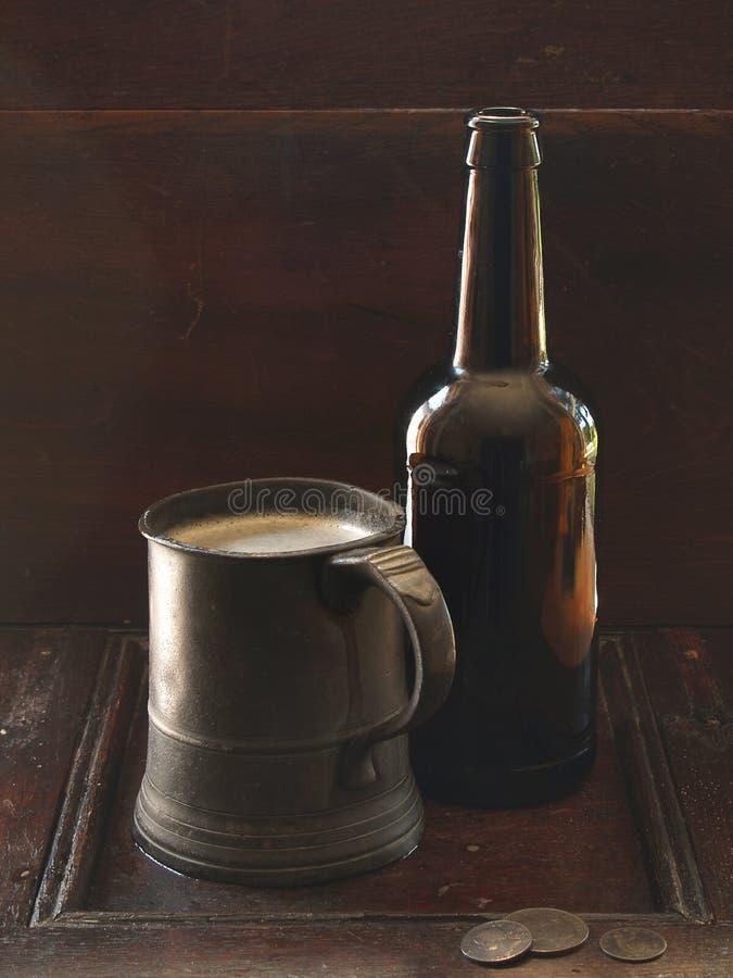 Bière anglaise photo libre de droits