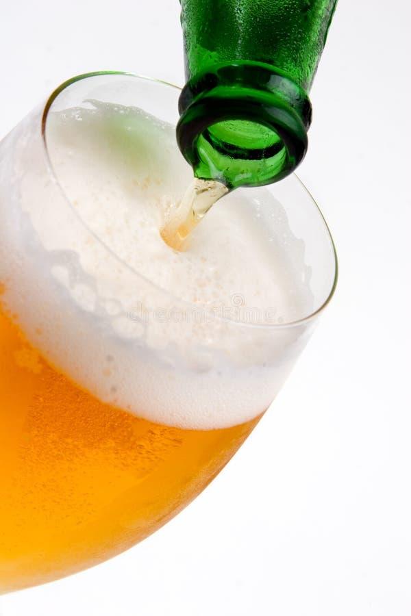 Bière blonde allemande froide # 2 photographie stock libre de droits