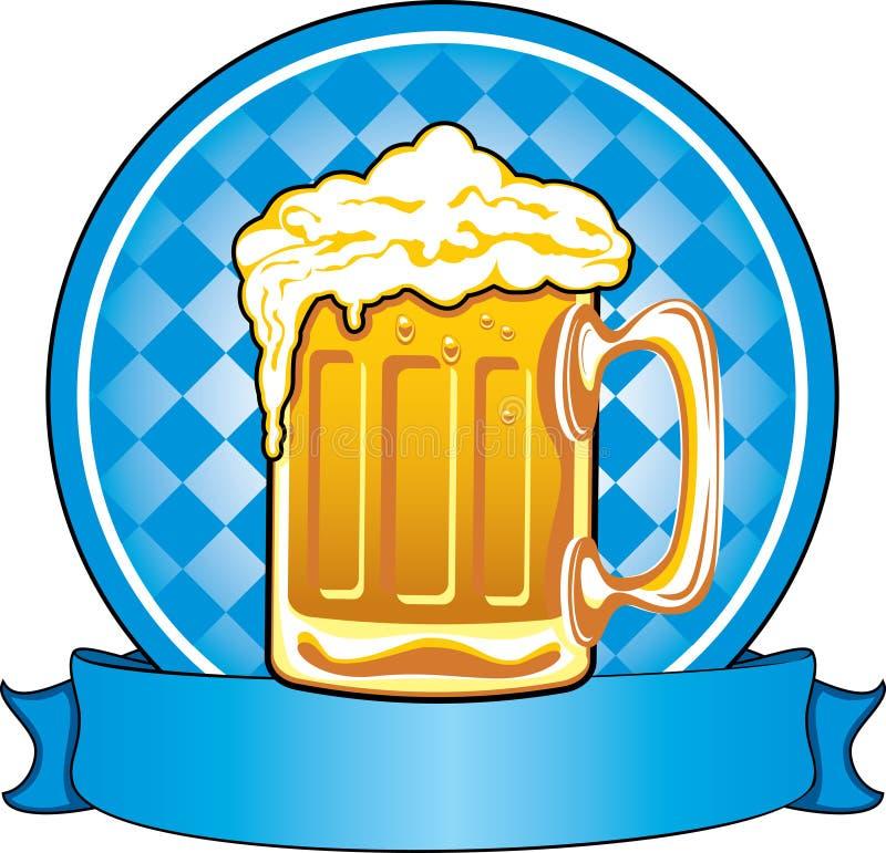 Bière d'Oktoberfest illustration stock