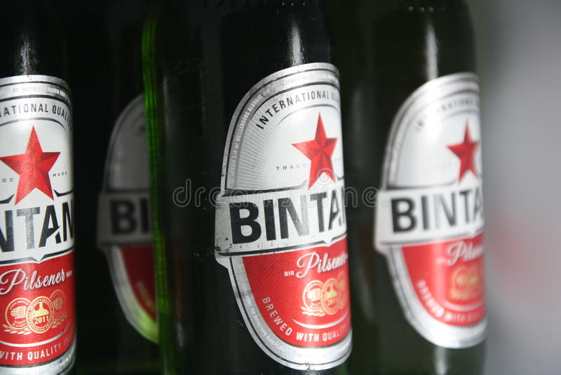 Bière de Bintang image libre de droits
