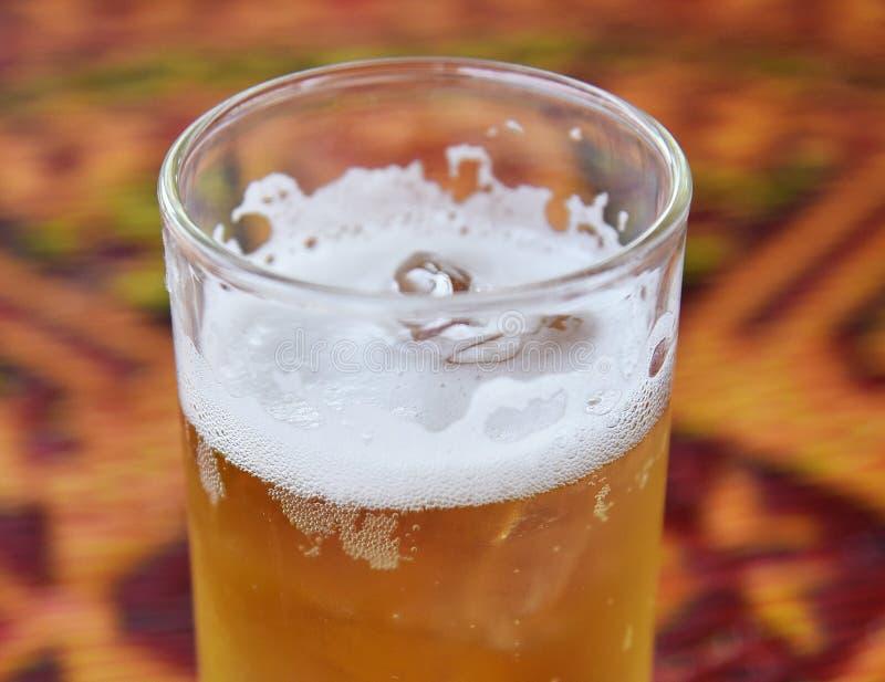 Bière de bulle image stock