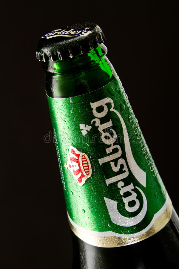 Bière de Carlsberg photo stock