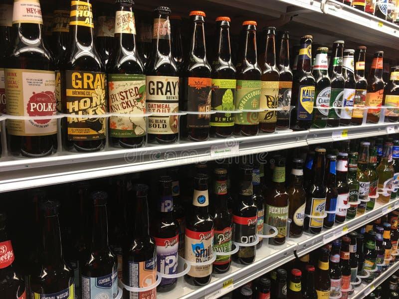 Bière de Microbrew photos stock