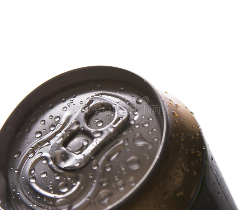 Bière en aluminium photo stock