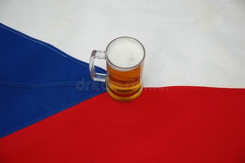 Bière et indicateur photo libre de droits