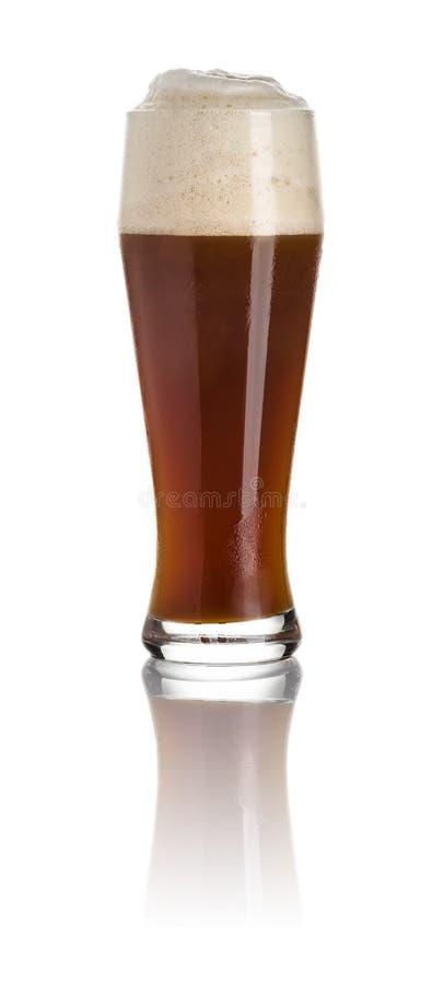 Bière foncée de blé image stock