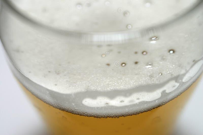 Bière - instruction-macro photos libres de droits