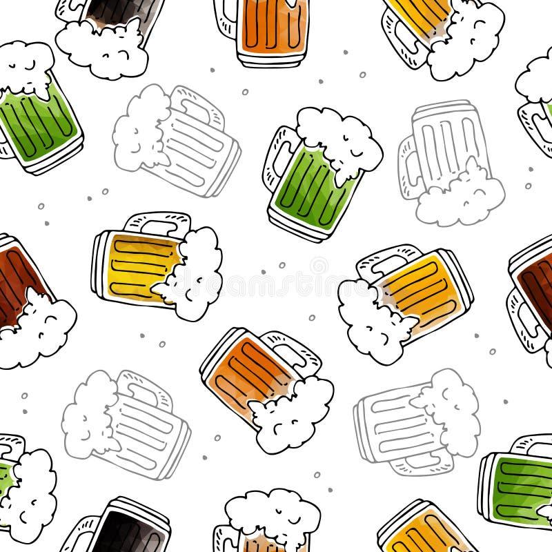 Bière seamless-13 illustration libre de droits