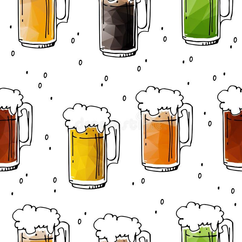Bière seamless-08 illustration libre de droits