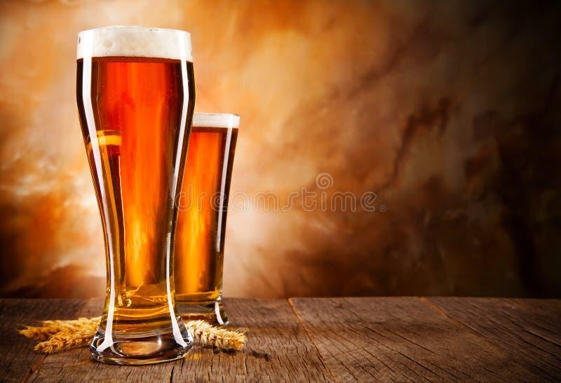 Bières photo stock