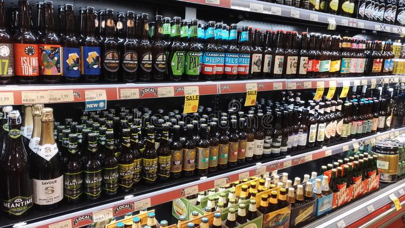 Bières de métier photographie stock libre de droits