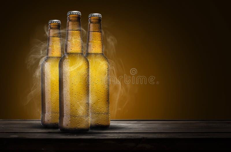 bières trois photos stock