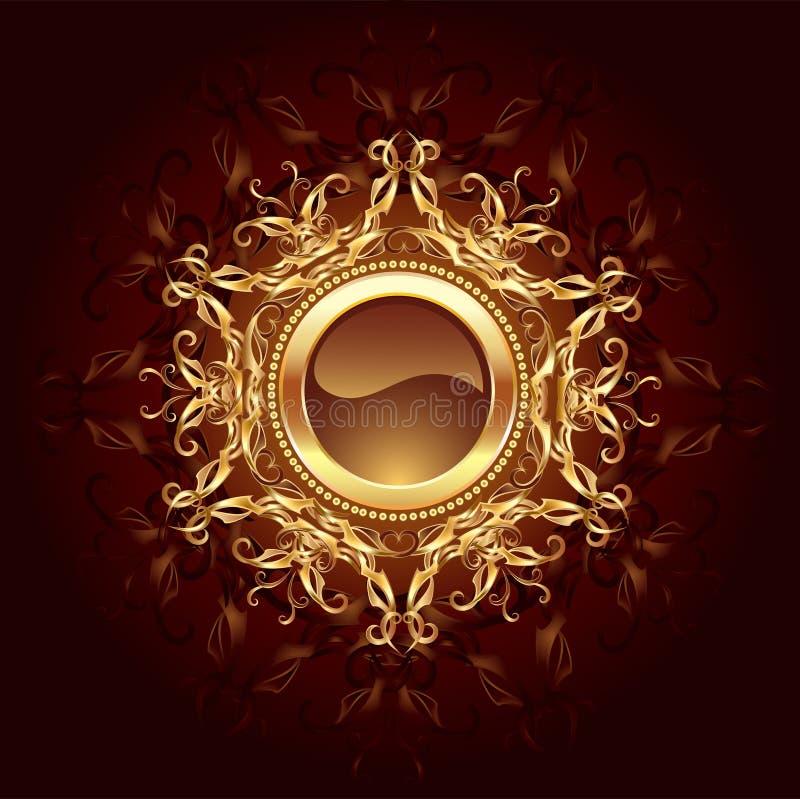 biżuteria sztandar biżuteria royalty ilustracja