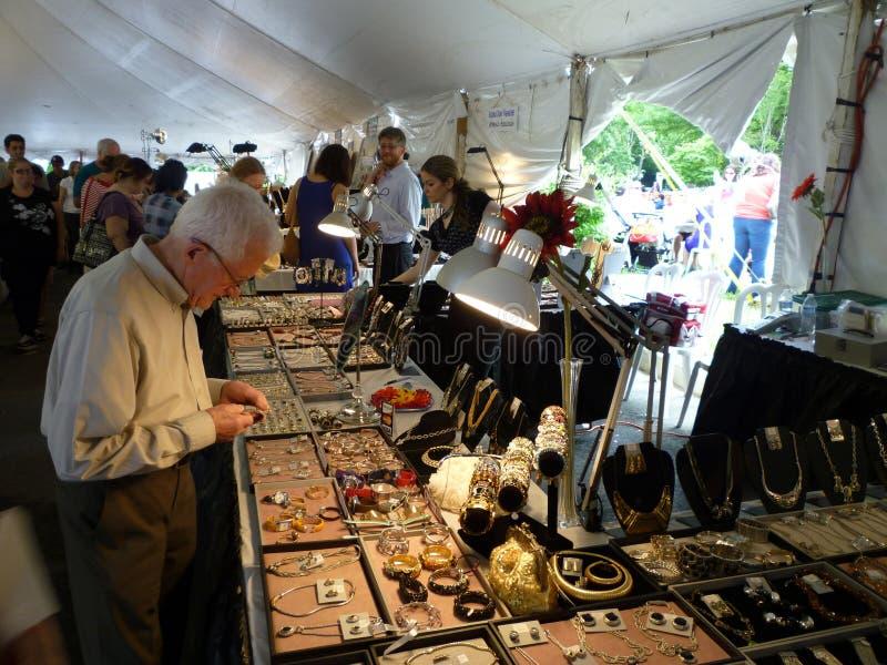 biżuteria zakupy fotografia royalty free