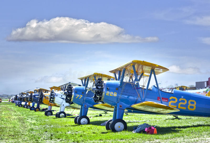 Download Bi-plane editorial image. Image of military, airplane - 26634910