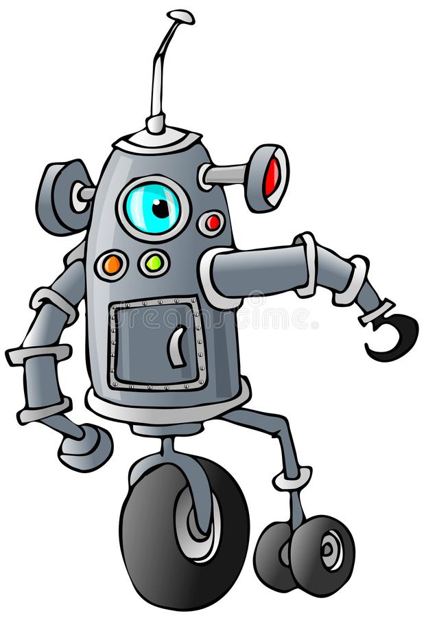 Download Bi-pod Robot Royalty Free Stock Photos - Image: 38193848