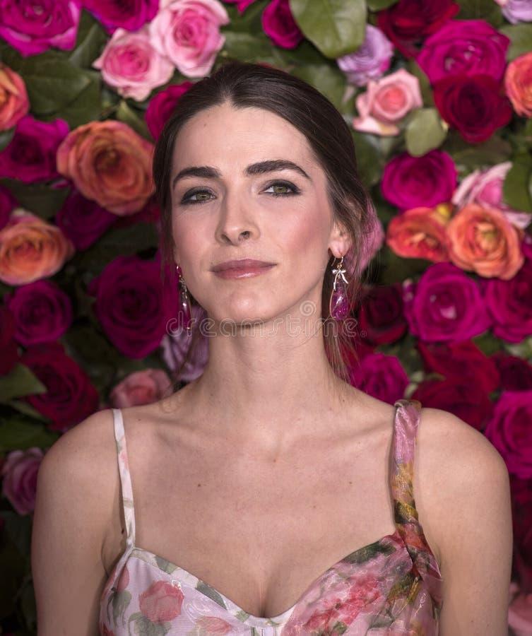 Bi Shaffer på Tony Awards 2018 royaltyfri bild