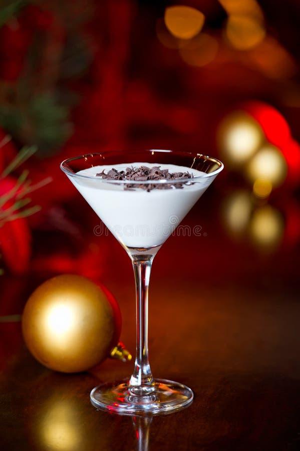 Białe Boże Narodzenia Martini zdjęcie royalty free