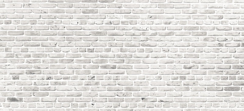 Biały ściana z cegieł Prosta grungy biała ściana z cegieł z światłem - szary cienia wzoru powierzchni tekstury tło w szerokim pan fotografia royalty free