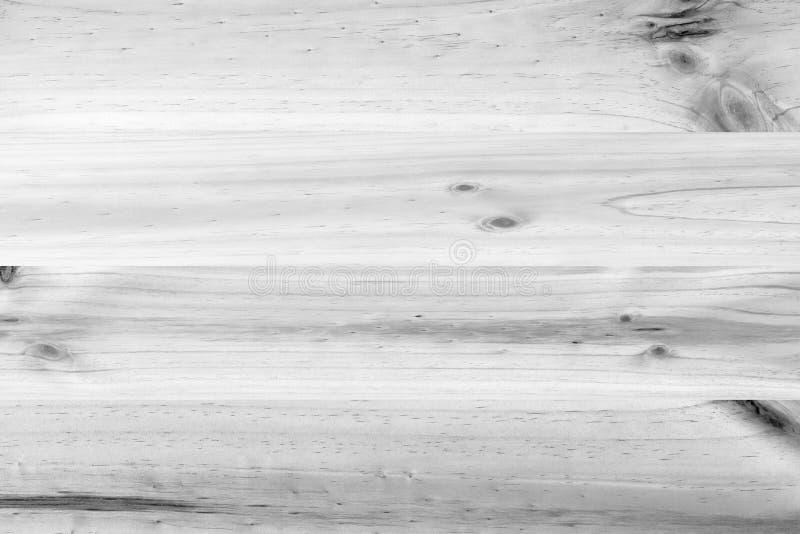 Biały drewniany sosnowy deski tekstury tło obrazy royalty free