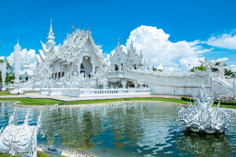 Biała świątynia Chiang mai obraz stock
