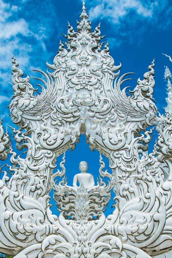 Biała świątynia Chiang mai fotografia royalty free