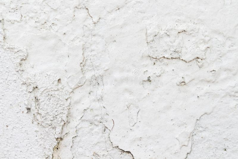 Biała betonowej ściany tekstura obrazy stock