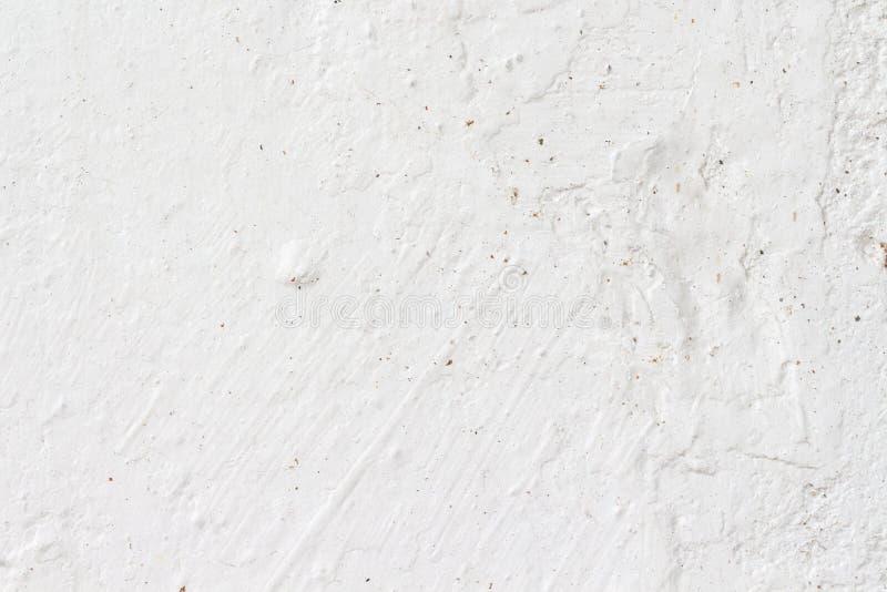 Biała betonowej ściany tekstura zdjęcia royalty free
