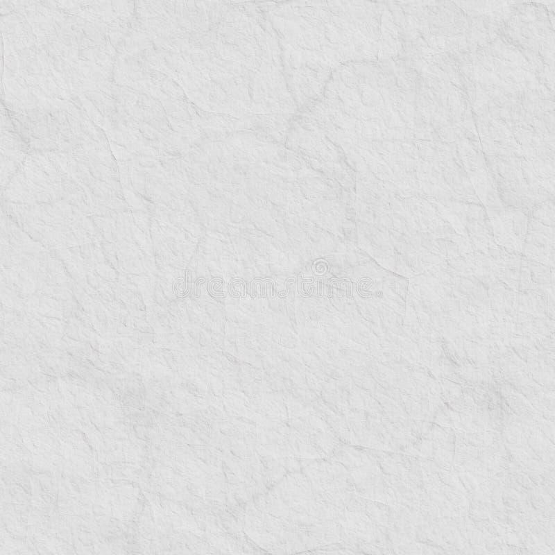 Biała bezszwowa papierowa tekstura zdjęcia stock