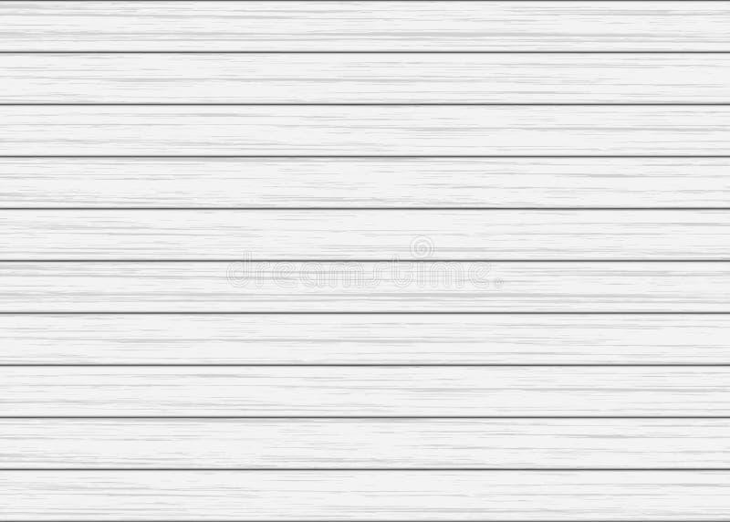 Biała drewniana deski tekstura royalty ilustracja