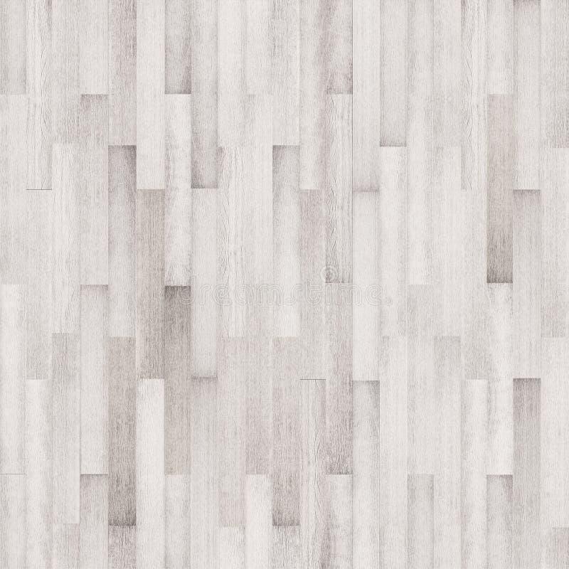Biała drewniana tekstura, bezszwowa drewniana podłogowa tekstura zdjęcia stock