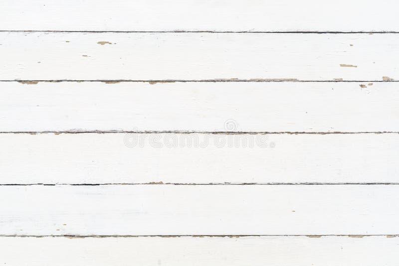 Biała drewno ściany tekstura jako tło fotografia royalty free